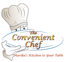 The convenient chef logo - small